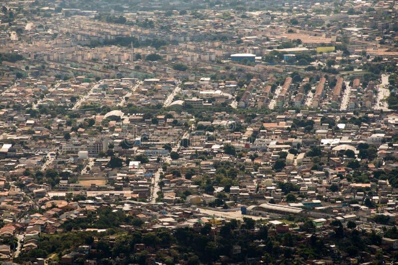 Rio de Janeiro Suburns Aerial View royalty-vrije stock fotografie