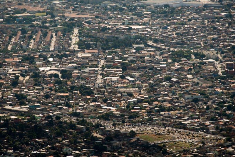 Rio de Janeiro Suburns Aerial View stock foto