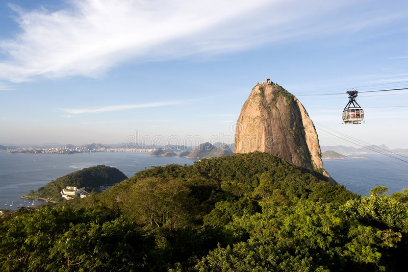 Rio de Janeiro Sugar Loaf royalty free stock photo