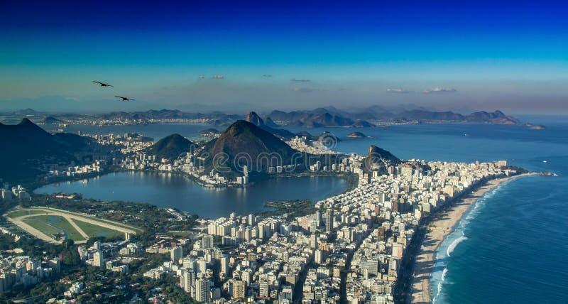 Rio de Janeiro van doisirmao van standpuntmorro royalty-vrije stock afbeeldingen