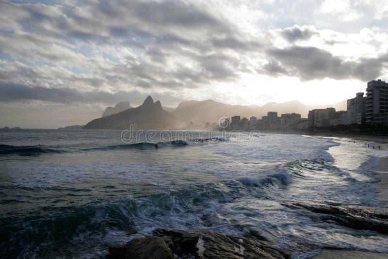 Rio de Janeiro, vista romantica immagine stock libera da diritti