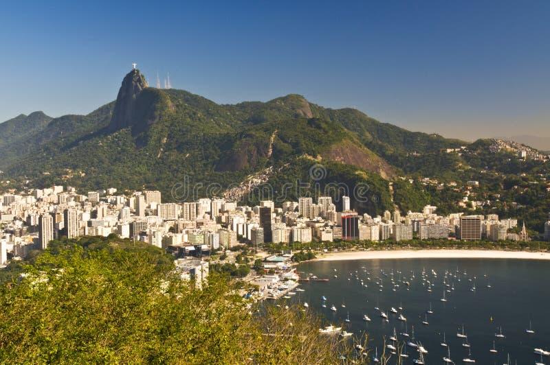 Rio de Janeiro von oben stockfotos