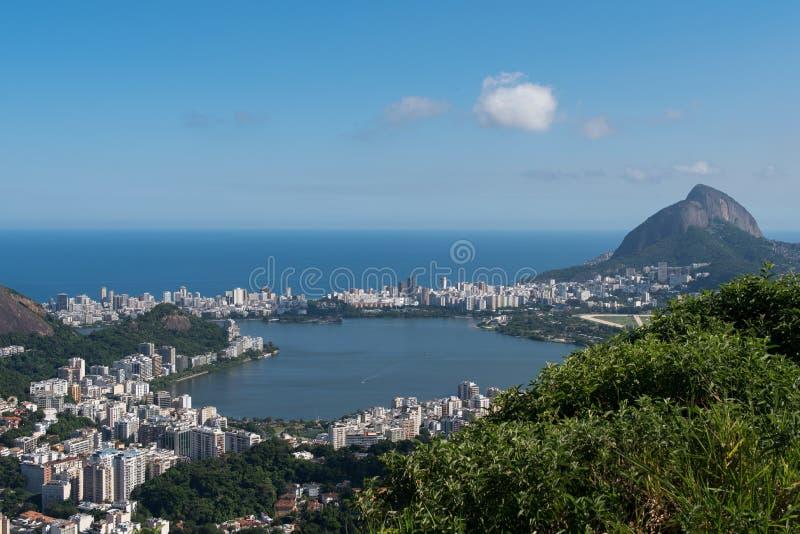 Rio- de JaneiroStadtbild lizenzfreie stockfotografie