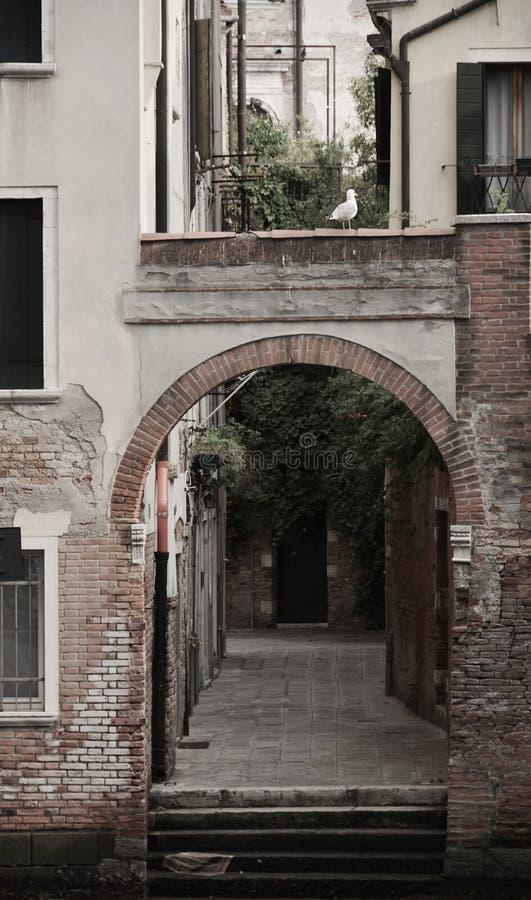 Rio de la Torre door, in Venice, Italy, Europe royalty free stock image