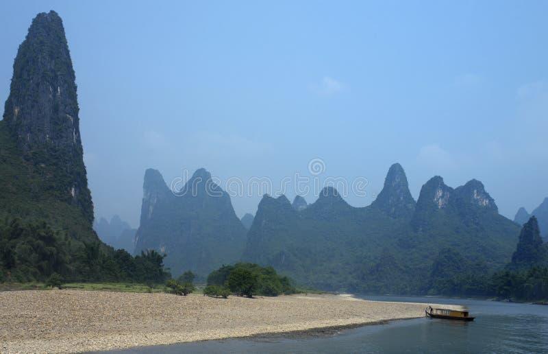 Rio de Li - Guilin - China imagem de stock royalty free