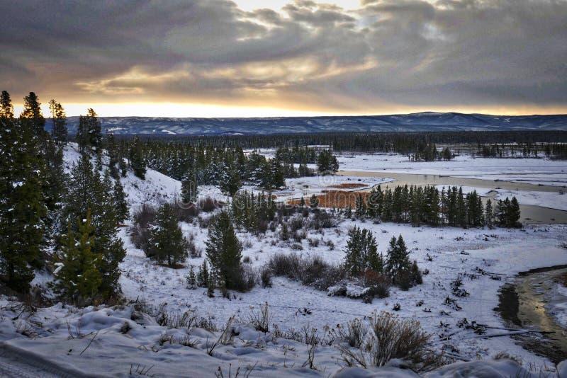 Rio de Madison perto de Yellowstone ocidental imagens de stock royalty free