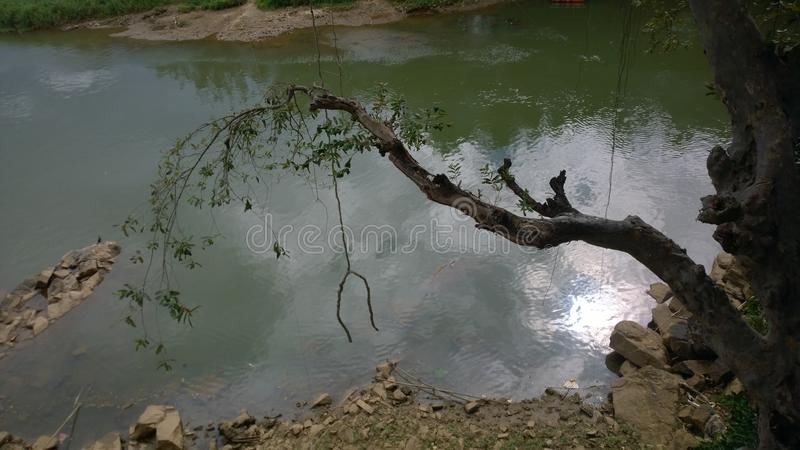 Rio de Mahaweli imagem de stock