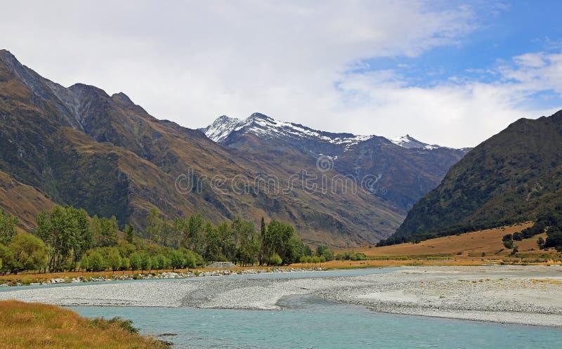 Rio de Matukituki imagem de stock