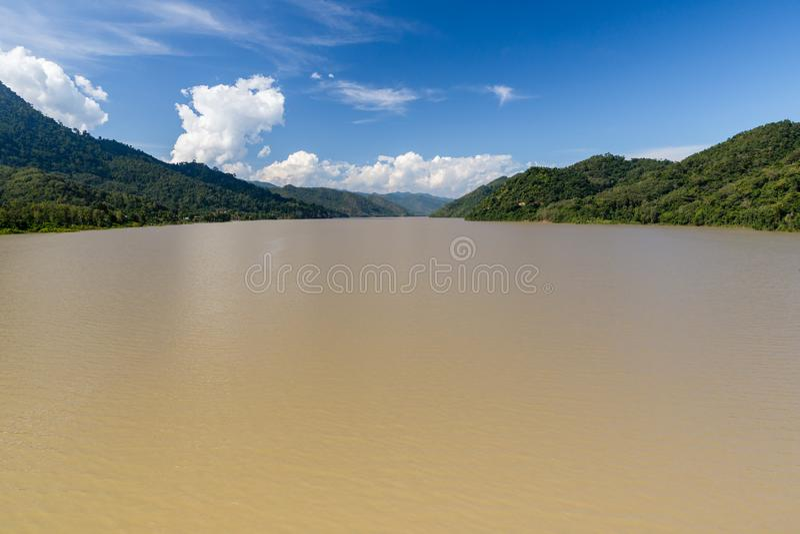 Rio de Mekong, Laos imagem de stock royalty free