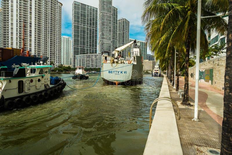 Rio de Miami imagens de stock royalty free