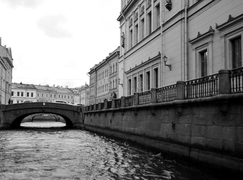 Rio de Moyka, St Petersburg, Rússia imagens de stock royalty free