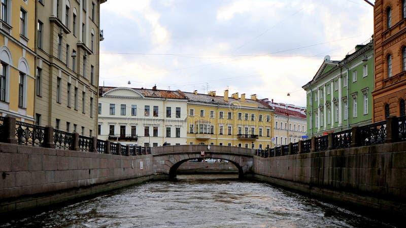 Rio de Moyka, St Petersburg, Rússia foto de stock royalty free
