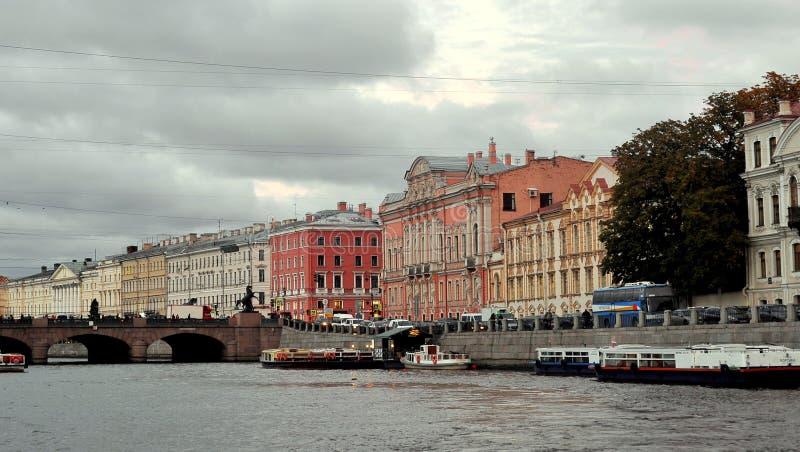 Rio de Moyka, St Petersburg, Rússia imagem de stock royalty free