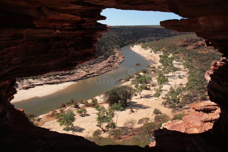 Rio de Murchison - Austrália fotografia de stock royalty free