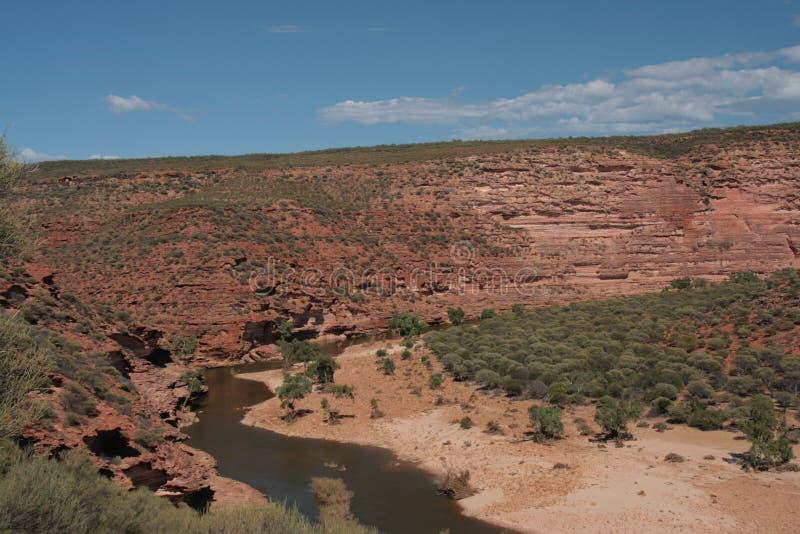 Rio de Murchison - Austrália fotografia de stock