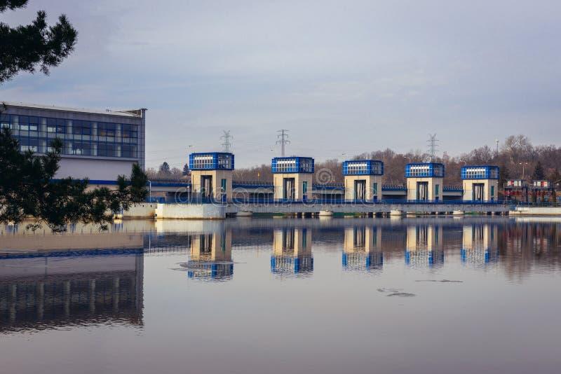 Rio de Narew no Polônia fotografia de stock royalty free