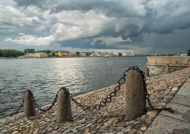 Rio de Neva foto de stock