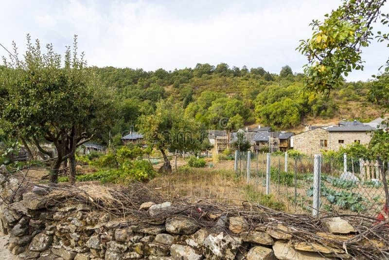 Rio de Onor Communal Gardens images stock