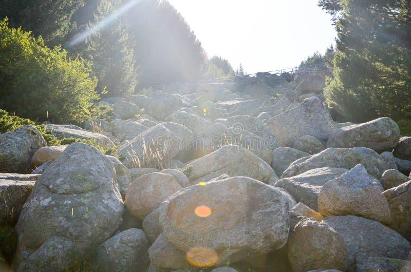 Rio de pedra fotos de stock royalty free