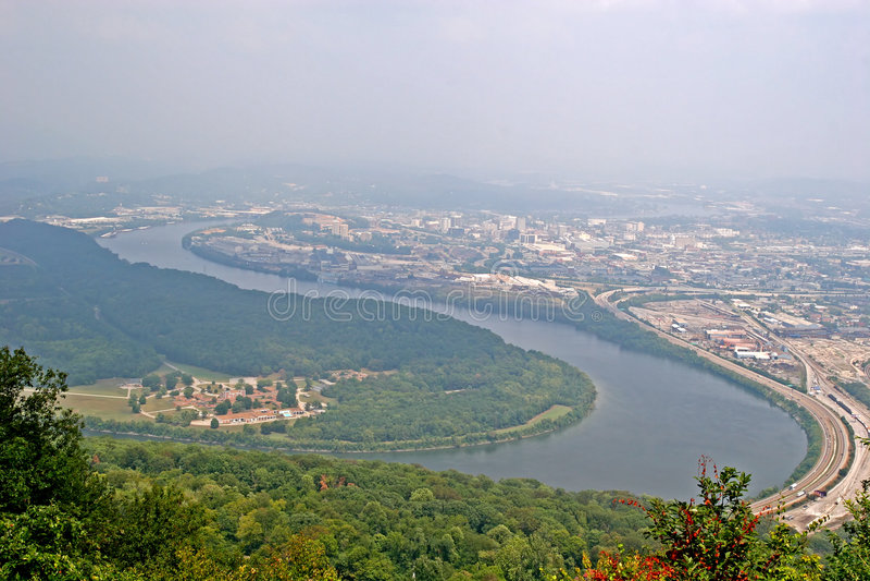 Rio de Tennessee imagens de stock royalty free