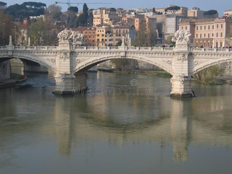 Rio de Tiber imagens de stock