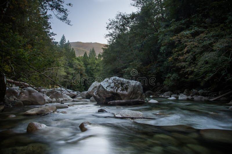 Rio de Washington State fotos de stock