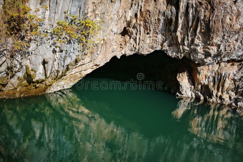 Rio do Buna, Bósnia imagem de stock royalty free