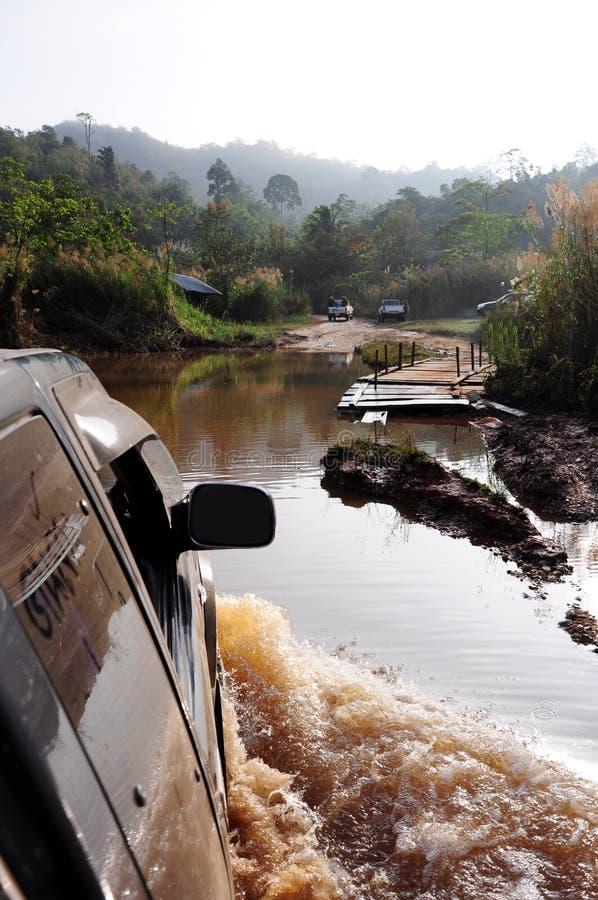 rio do cruzamento 4WD fotos de stock royalty free