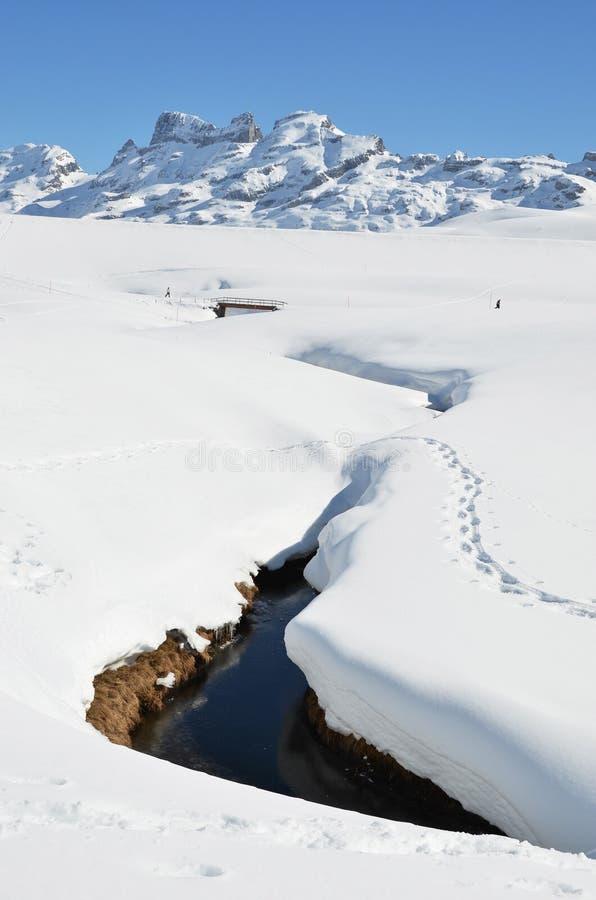 Download Melchsee-Frutt, Switzerland Foto de Stock - Imagem de floresta, snowbank: 29842748
