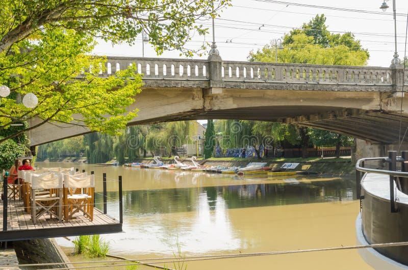 Rio dos begumes, Timisoara imagens de stock