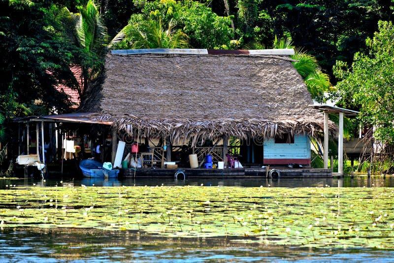 Rio Dulce guatemala photographie stock libre de droits