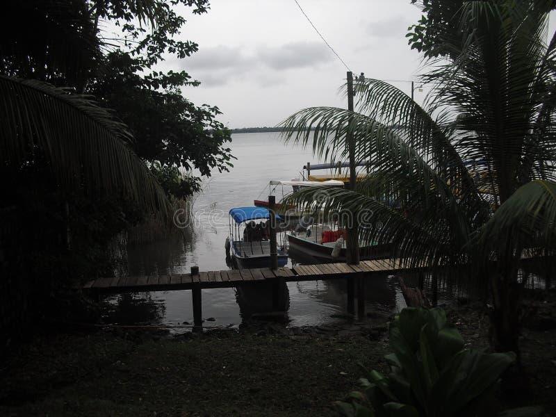 Rio Dulce, Izabal, Guatemala, Amérique Centrale image libre de droits