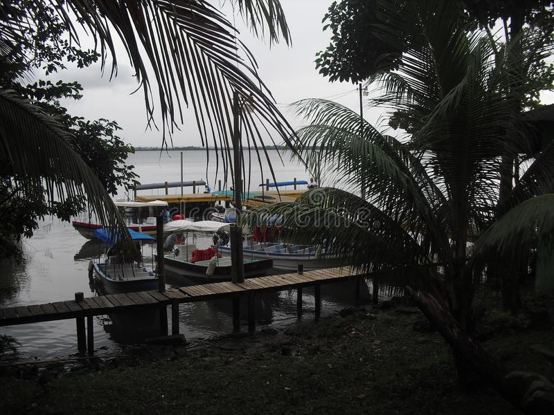 Rio Dulce, Izabal, Guatemala, Amérique Centrale 1 photos libres de droits