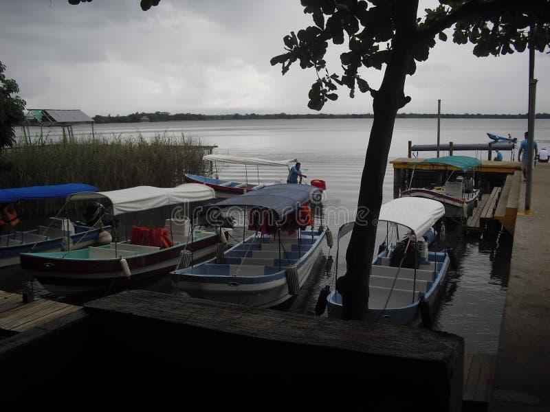 Rio Dulce, Izabal, Guatemala, Amérique Centrale 2 photographie stock libre de droits