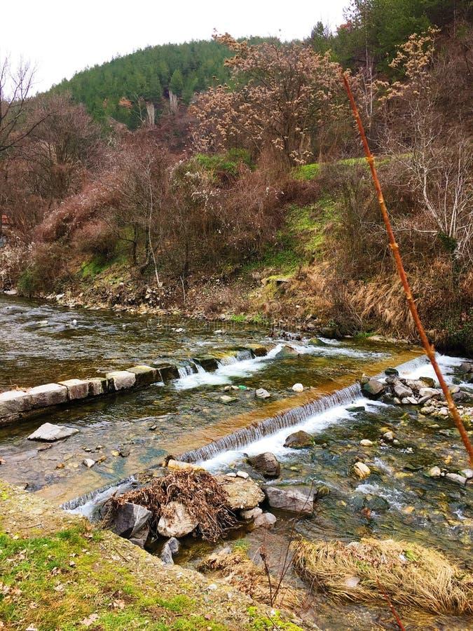 Rio em Bulgária, Blagoevgrad fotografia de stock royalty free