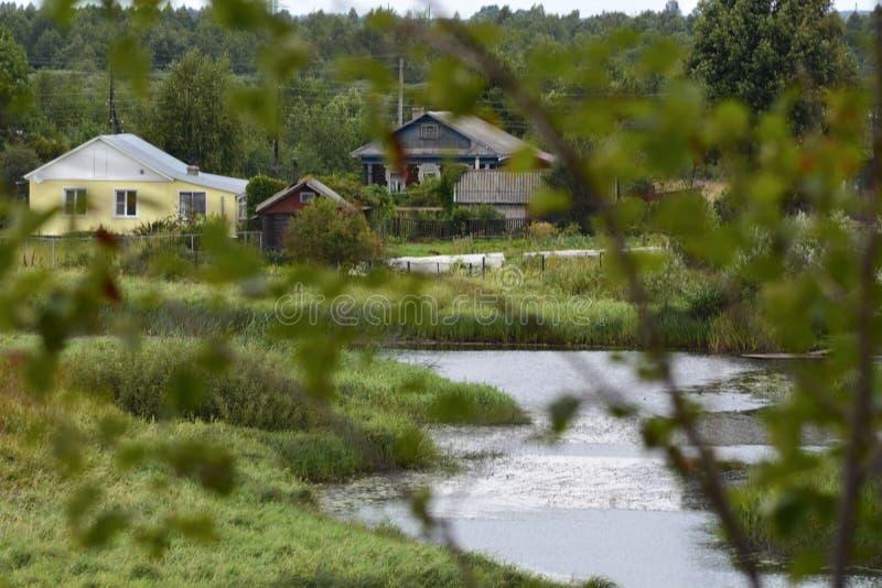 Rio em Rússia imagens de stock