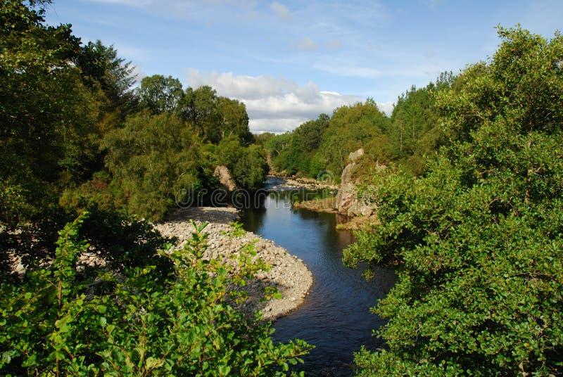 Rio Fechlin2 Whitebridge imagem de stock