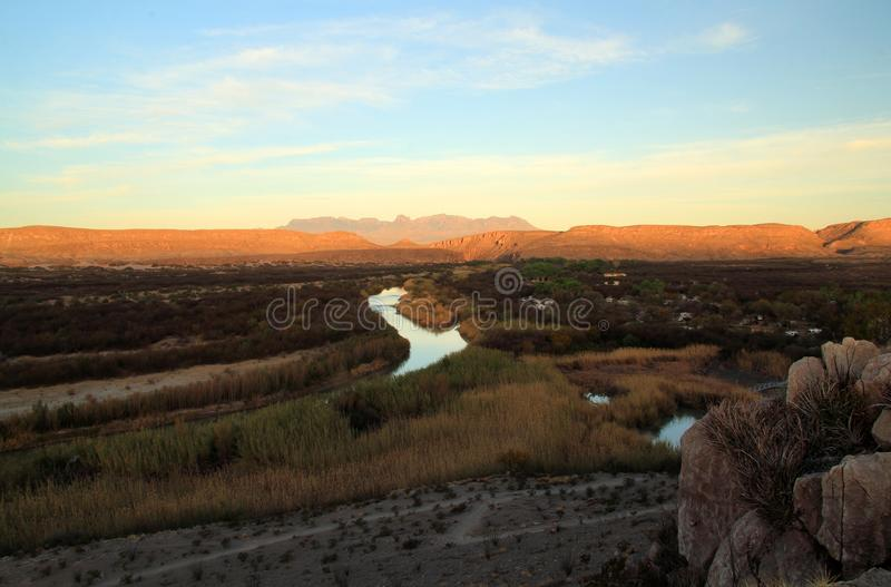 Rio Grande photo libre de droits