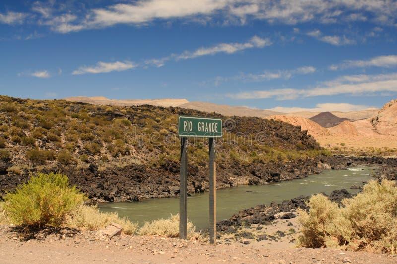 Rio Grande stockfoto