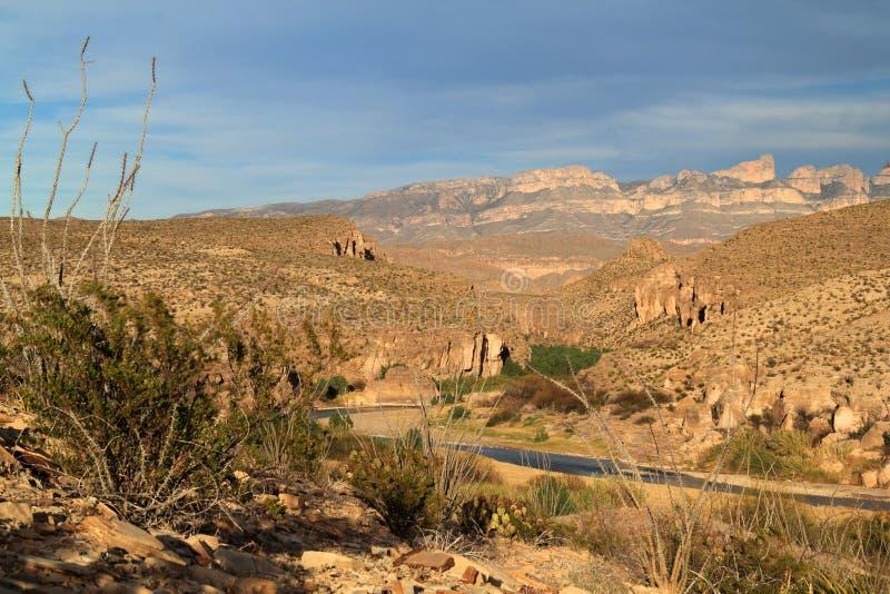 Rio Grande Landscape stock foto