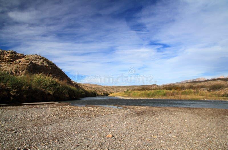 Rio Grande Landscape royalty-vrije stock foto