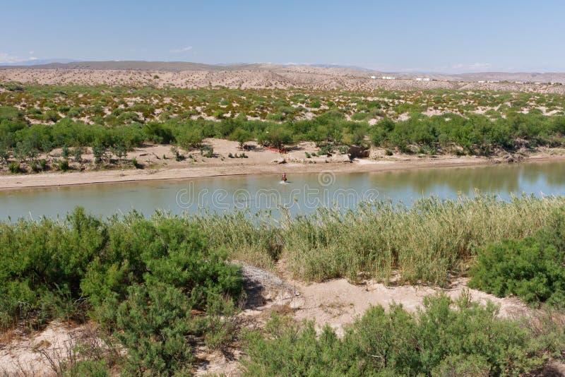 Rio Grande, le Texas photographie stock libre de droits