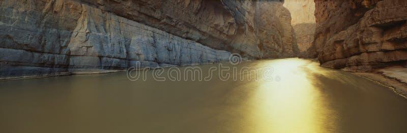 Rio Grande River, Texas/Mexico border royalty free stock photo