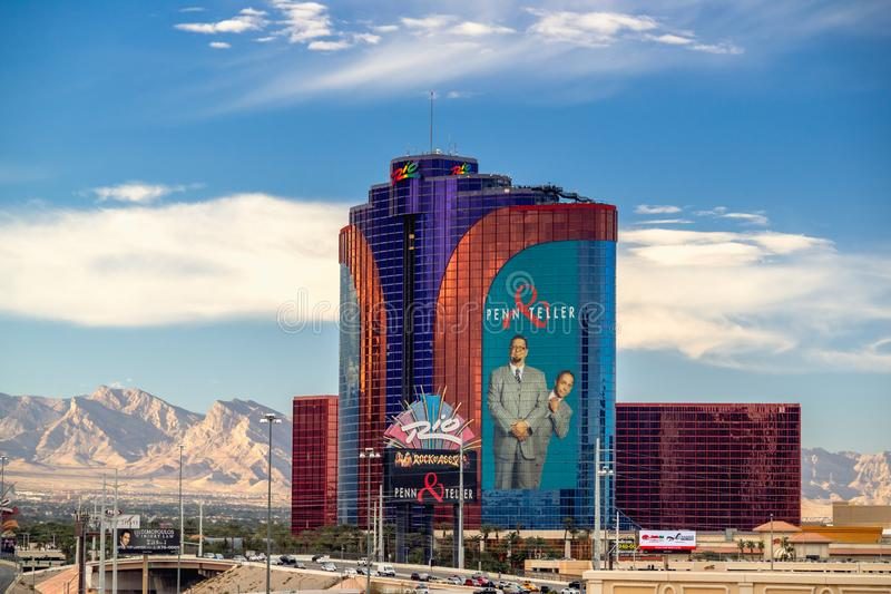 Rio Hotel y casino, Las Vegas, Nevada imágenes de archivo libres de regalías