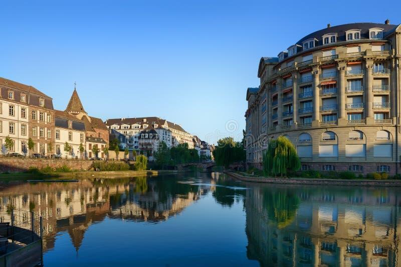 Rio IL em Strasbourg imagens de stock