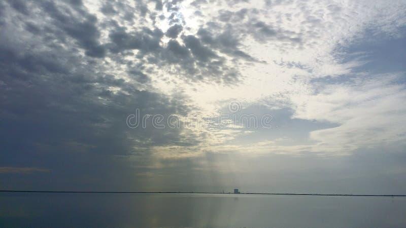 Rio indiano Titusville FL foto de stock