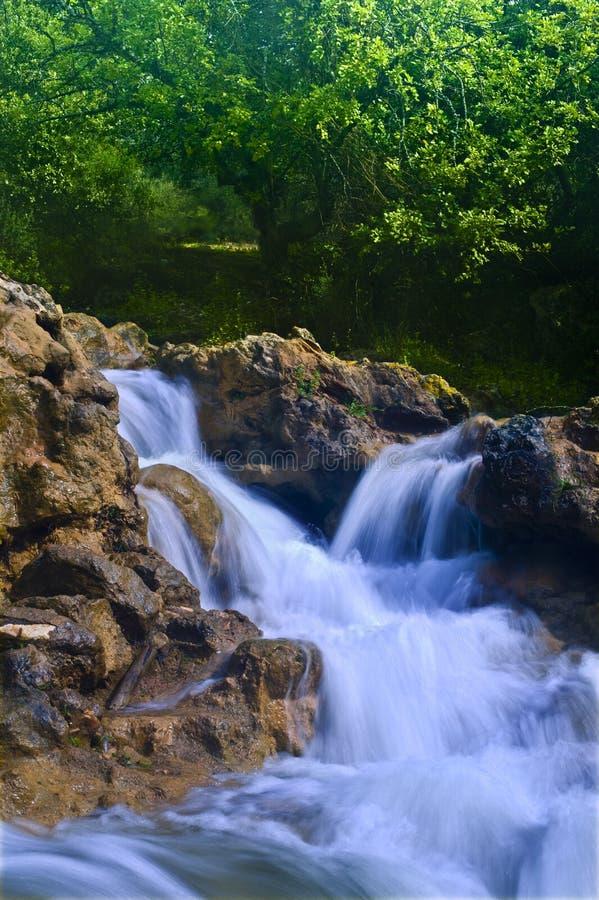 Rio Israel de Parod imagem de stock