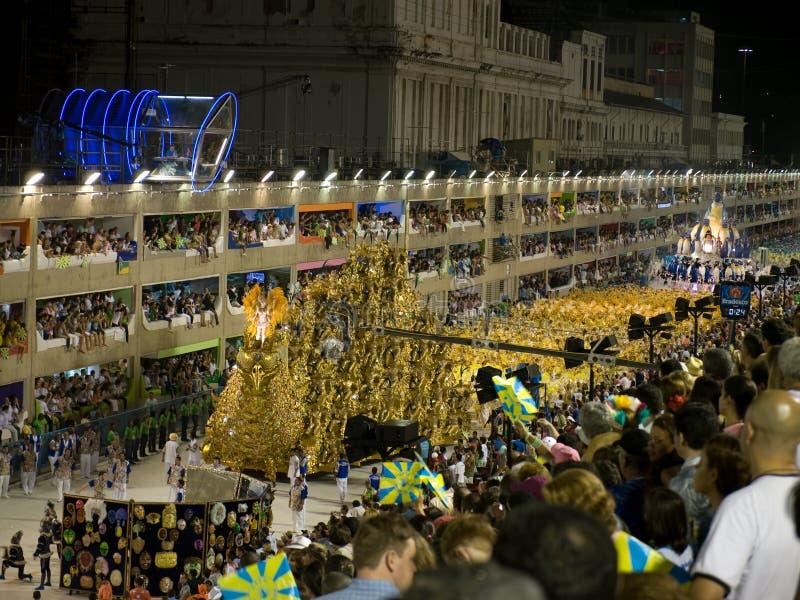 Rio-Karneval 2008 stockfotografie