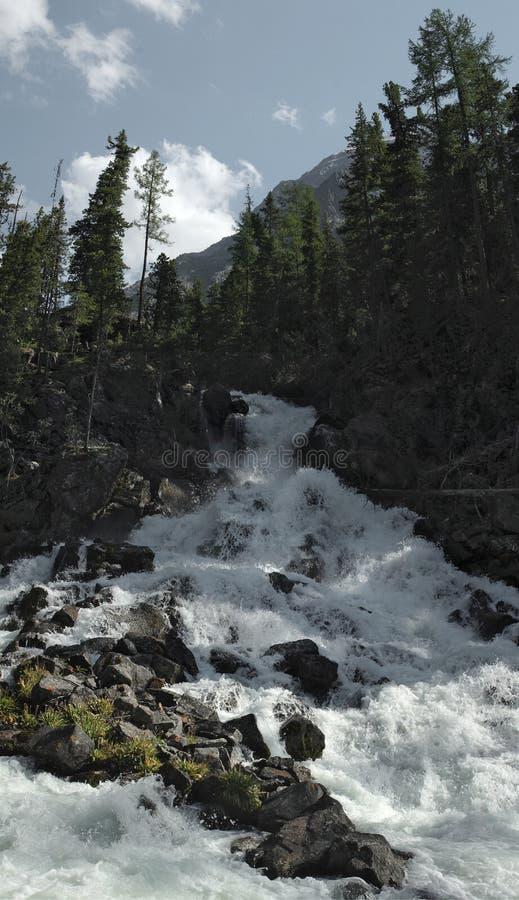 Rio Kucherla imagem de stock
