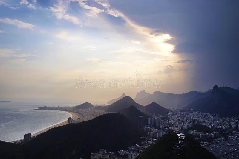 Rio Landscape stock afbeelding